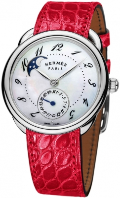 Hermes Arceau Petite Lune Automatic GM 38mm 040067ww00