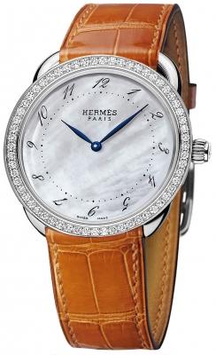 Hermes Arceau Quartz GM 38mm 040106WW00