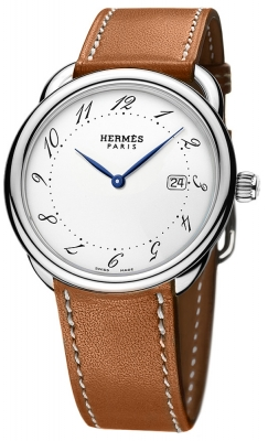 Hermes Arceau Quartz GM 38mm 040112WW00