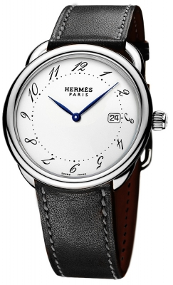 Hermes Arceau Quartz GM 38mm 040114WW00