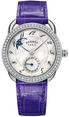 Hermes Arceau Petite Lune Automatic GM 38mm 041035ww00