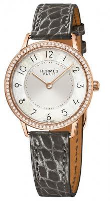 Hermes Slim d'Hermes MM Quartz 32mm w041770ww00