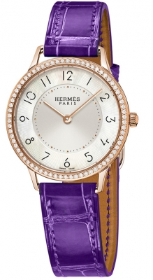 Hermes Slim d'Hermes MM Quartz 32mm 041772ww00