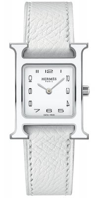 Hermes H Hour Quartz 21mm 044898ww00