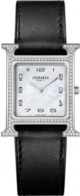 Hermes H Hour Quartz 21mm 046506ww00