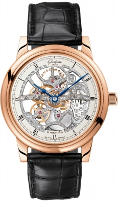 Glashutte Original Senator Manual Winding Skeletonized Edition 1-49-18-01-05-30