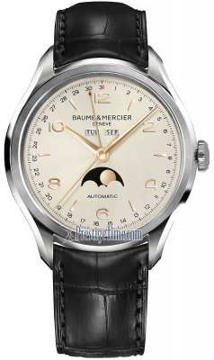 Baume & Mercier Clifton Complete Calendar Moonphase 43mm 10055