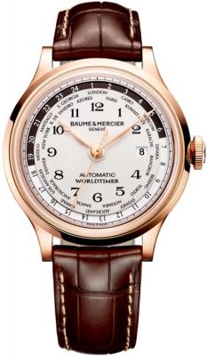 Baume & Mercier Capeland Worldtimer 44mm 10107