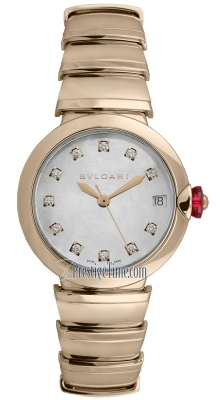 Bulgari Lucea Automatic 33mm lup33wggd/11