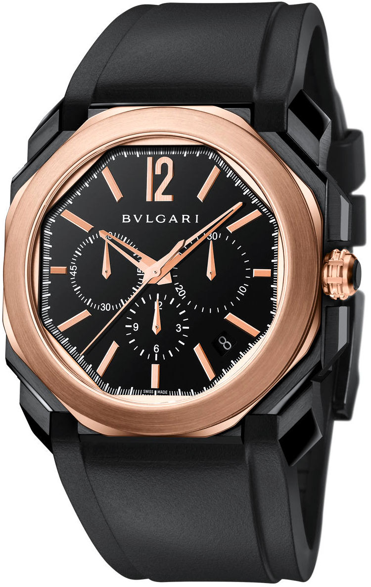 hands bulgari be watch do said to softer appears as a on rome rather design is around of often ironically watches romans the at very review saying that department octo roma not shape bvlgari in when