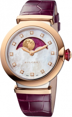 Bulgari Lucea Automatic 36mm lu36rspgl/12mp