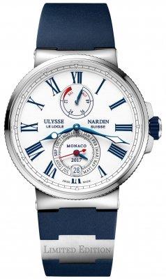 Ulysse Nardin Marine Chronometer Annual Calendar 43mm 1133-210LE-3/40-MON