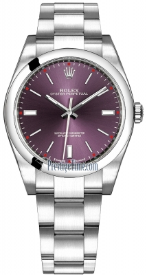 Rolex Oyster Perpetual 39mm 114300 Red Grape Oyster