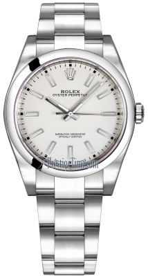 Rolex Oyster Perpetual 39mm 114300 White Oyster
