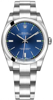 Rolex Oyster Perpetual 39mm 114300 Blue Oyster