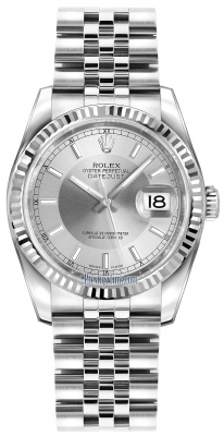 116234 Silver/Rhodium Index Jubilee