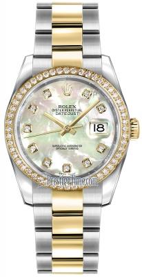 116243 White MOP Diamond Oyster