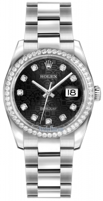 116244 Jubilee Black Diamond Oyster