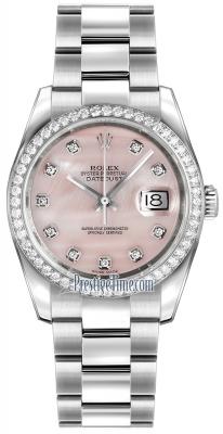 116244 Pink MOP Diamond Oyster