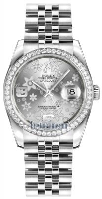 116244 Silver Floral Jubilee