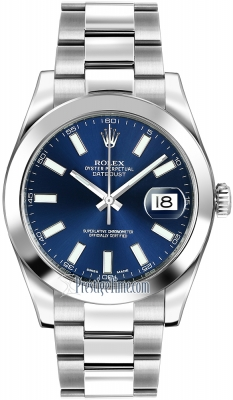 Rolex Oyster Perpetual Datejust II 116300 Blue Index