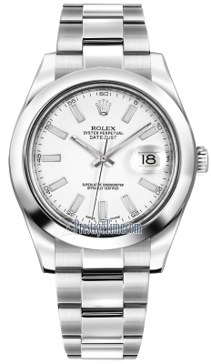 Rolex Oyster Perpetual Datejust II 116300 White Index