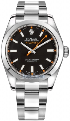 Rolex Milgauss 40mm 116400 Black