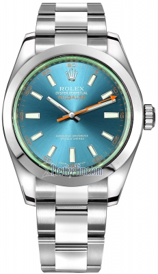Rolex Milgauss 40mm 116400gv Blue