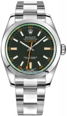 Rolex Milgauss 40mm 116400gv Black