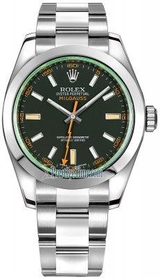 Rolex Milgauss 40mm 116400gv Black