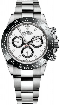 Rolex Cosmograph Daytona Stainless Steel 116500LN White