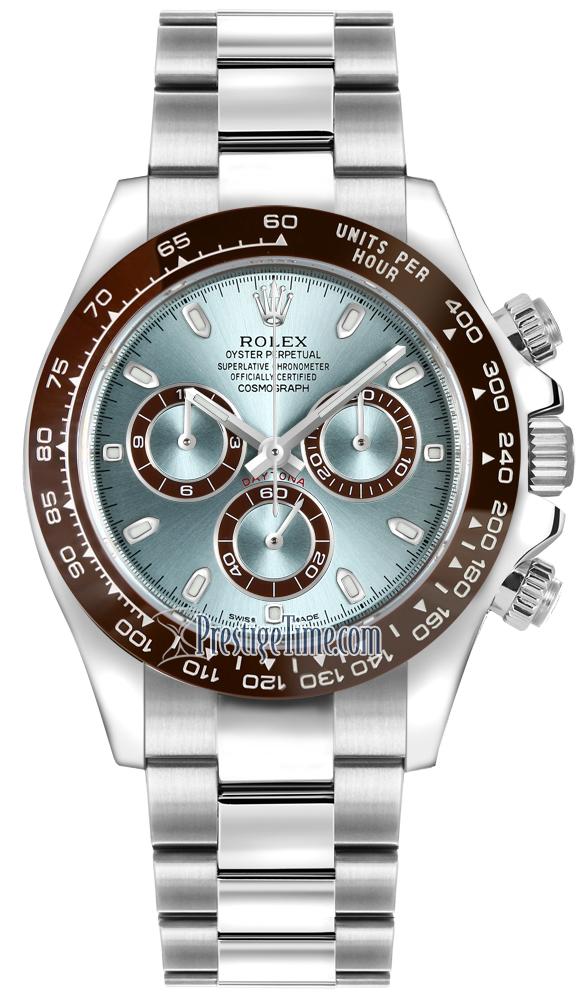 Rolex Cosmograph Daytona Platinum 116506LN Ice Blue Index