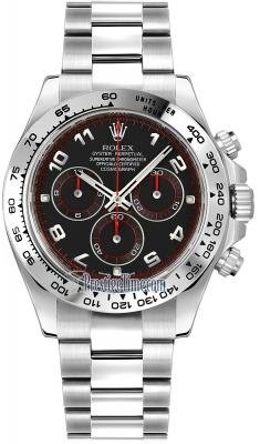 Rolex Cosmograph Daytona White Gold 116509 Black Arabic
