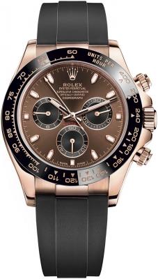 Rolex Cosmograph Daytona Everose Gold 116515LN Chocolate Black Oysterflex