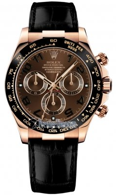 Rolex Cosmograph Daytona Everose Gold 116515LN Chocolate