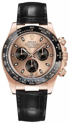 Rolex Cosmograph Daytona Everose Gold 116515LN Pink and Black Index