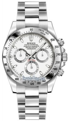 Rolex Cosmograph Daytona Stainless Steel 116520 White