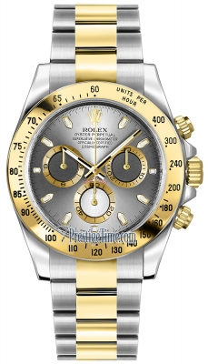 Rolex Cosmograph Daytona Steel and Gold 116523 Steel Index