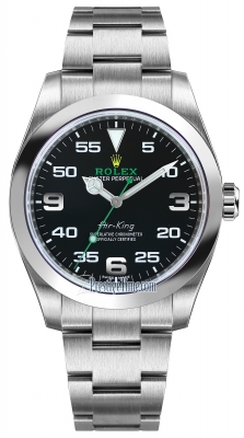 Rolex Oyster Perpetual Air King 40mm 116900 Black