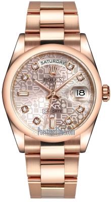 118205 Pink Jubilee Diamond Oyster