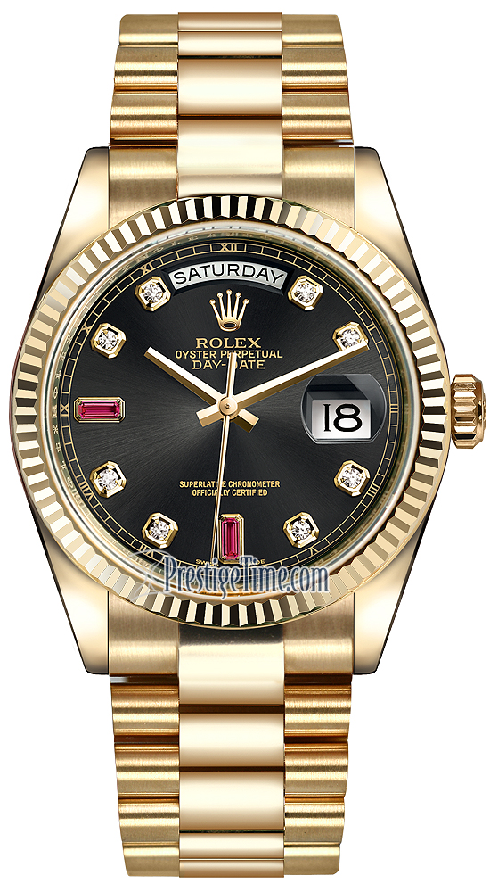Rolex Day Date Black Gold