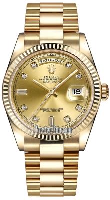 118238 Champagne Diamond President
