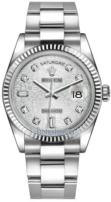 118239 Silver Jubilee Diamond Oyster