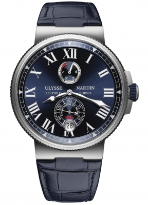 Ulysse Nardin Marine Chronometer Manufacture 45mm 1183-122/43