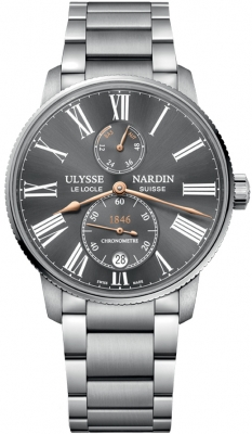 Ulysse Nardin Marine Chronometer Torpilleur 42mm 1183-310-7m/42-bq