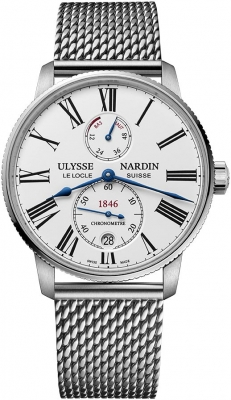 Ulysse Nardin Marine Chronometer Torpilleur 42mm 1183-310-7MIL/40