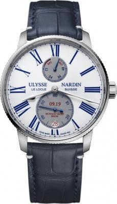 Ulysse Nardin Marine Chronometer Torpilleur 42mm 1183-310LE/E0-MON