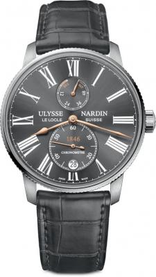 Ulysse Nardin Marine Chronometer Torpilleur 42mm 1183-310/42-bq