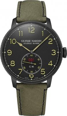 Ulysse Nardin Marine Chronometer Torpilleur 44mm 1183-320LE/Black