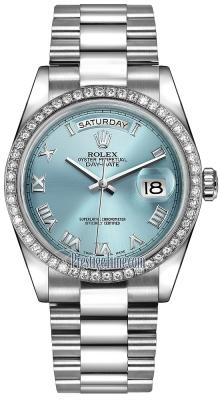 118346 Ice Blue Roman President